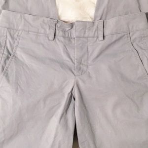 Vince Pants - Vince light blue cuffed cropped pants 0